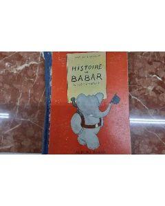 ALBUM BABAR 1939 L'1 ETAT MOYEN