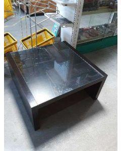 TABLE BASSE PLATEAU VERRE