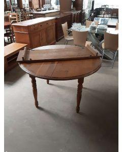 TABLE RONDE CHENE AVEC 1 ALLONGE