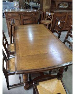 TABLE AVEC 2 ALLONGES
